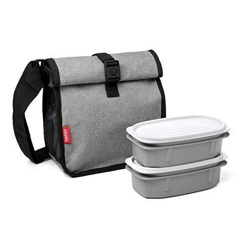 TATAY 1185215 Urban Food Roll&Go Denim Grey - Bolsa