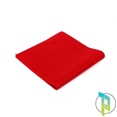 Palucart tovaglie in tnt 100x100 confezione da 25 tovaglie colore rosso tessuto non tessuto ideali per la ristorazione