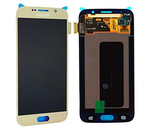 Original Samsung Galaxy S6 SM G920F LCD AMOLED Display Touchscreen Digitizer Platinum Gold Service Ersatzteil OCTA GH97-17260C