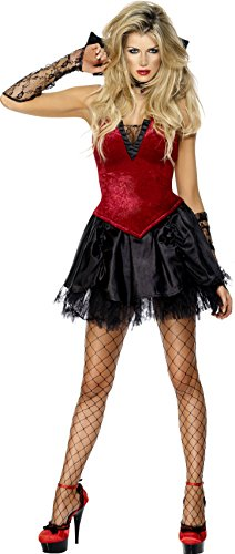 SMIFFYS Generico - 354 379 - Disguise Sexy Halloween Vampire Woman - Piccolo