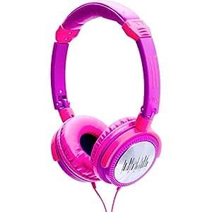 iDance Crazy 601 Kopfhörer mit 44mm Treiber pink/lila