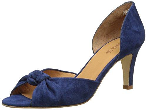 Emma GoCamille - Scarpe Peep-Toe Donna , blu (Blu (Suede Navy)), 41 EU