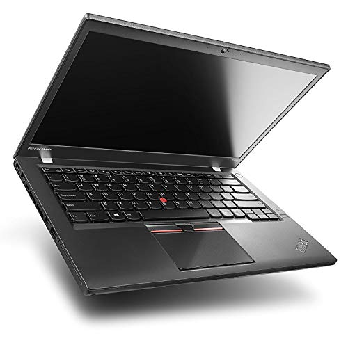 'Lenovo ThinkPad T460 - PC portatile - 14 Full-HD - Nero (Intel Core i5 - 6300U/2.40 GHz, 8 GB di RAM, Disco 240 GB SSD, Webcam, Windows 10 professionale)