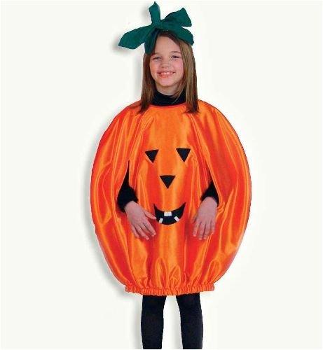 Halloween Kürbis Kinder Kostüm Party Gr. 152-164 (Für 1950's Kostüme Mädchen)