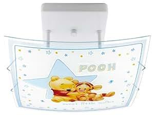 dalber winnie the pooh deckenlampe 23667 kinderlampe kinderzimmer lampe leuchte. Black Bedroom Furniture Sets. Home Design Ideas
