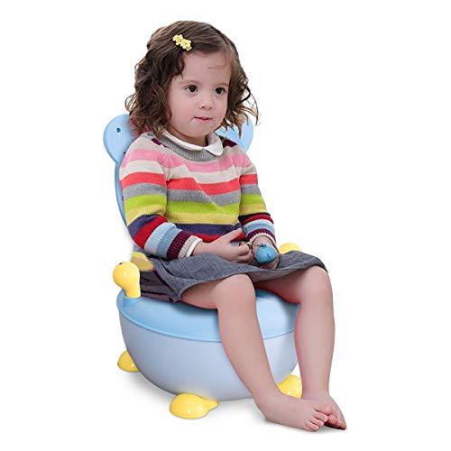 COSTWAY Töpfchen Kinder   Toilettensitz Baby   Kindertoilette 34x33x22cm   Toilettentrainer   Babytopf   Lerntöpfchen Farbwahl