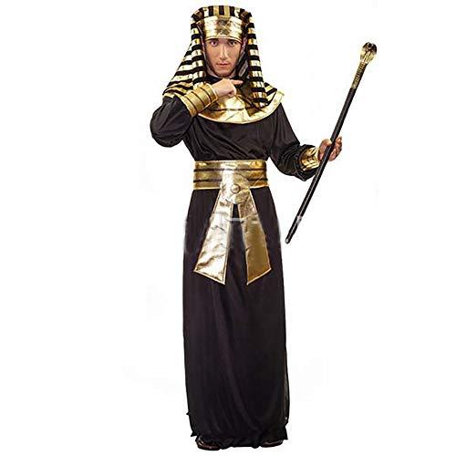 Yukeyy uomo costume cosplay di carnevale maschile di halloween costume da samurai egiziano medievale