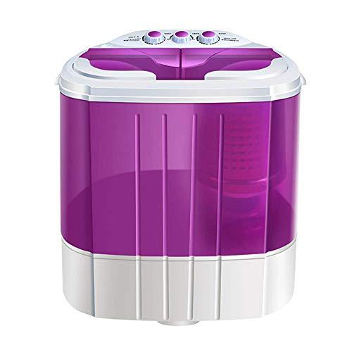 OCYE Mini Lavatrice di Grande capacità compatta Lavatrice da appoggio con cestello di circolazione Rotante e Tubo di Scarico