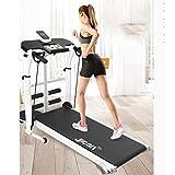 Laufbänder Faltende Maschine Tilt Fitness Multi-Funktions-Gewichtsverlust Aerobic Walking (Color : Black, Size : 115x52x110cm) - 2