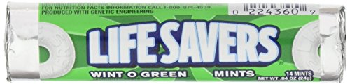 Lifesavers Wint-O-Green 24g, 5er Packung (5 x 24 g)