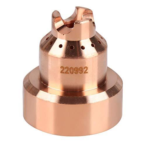 Plasma-Schutzkappen, 5 Stück/Set 220992 Plasmaschneidbrenner Verbrauchsmaterial Schutzkappe für MAX65/85/105, hauptsächlich im Bereich der Metallzerspanung eingesetzt