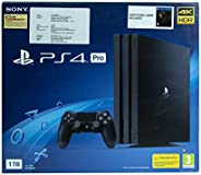 Sony PS4 PRO 1TB Console with Death Stranding Pasted Outside box