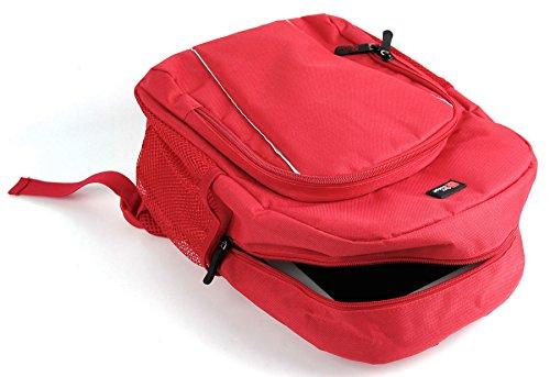 DURAGADGET Roter Kinder Rucksack für alle Apple ipads (2, 3, 4, Air, Air 2, Mini, Mini 2, Mini 3, Mini 4, Pro 9.7 und Pro 12.9) - Gb Ipad Cellular Mini 2 128