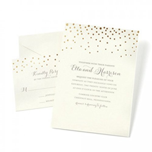 gartner-studios-gold-foil-dot-invitation-kit-set-of-50