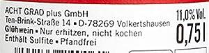 Heißer Hirsch Bio Glühwein rot (6 x 0.75l)