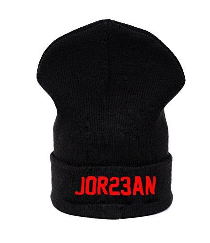 Beanie hat Bonnet Fashion Jersay Oversize Bad Hair Day Fresh I Love Jordan 23