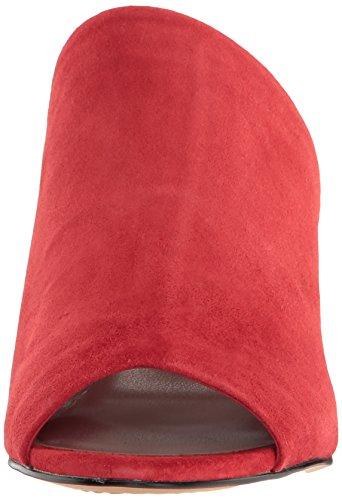 Steven Steve Madden Fume Damen Wildleder Sandale Red