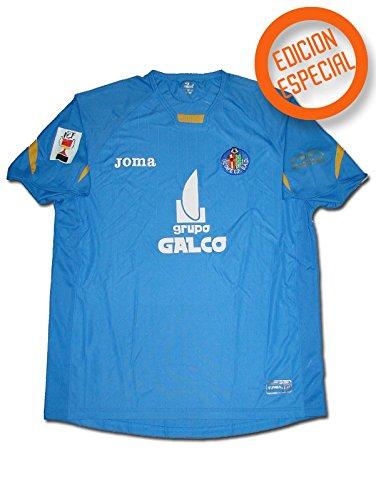 7edf707535ac4 Joma - Getafe 1ª Camiseta Final Copa del Rey 2007 Hombre Color  Azul Royal  Talla