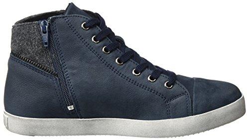 Tamaris 25283, Baskets Hautes Femme, Schwarz (Black 001) Bleu (Navy)