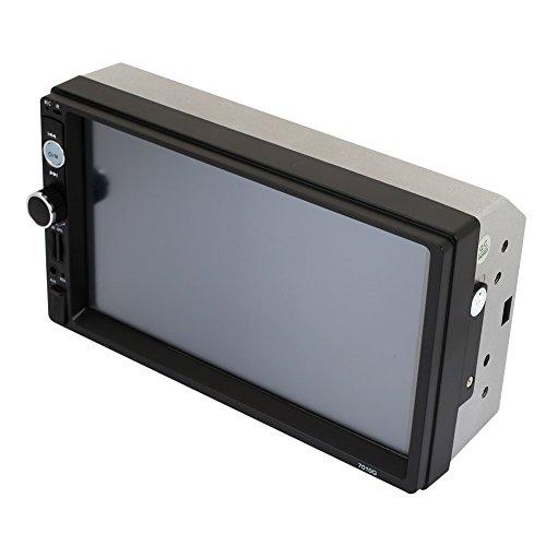 Lecteur stéréo de Voiture MP5 la Navigation GPS de Double Broche d'écran Tactile d'affichage de 7,0 Pouces