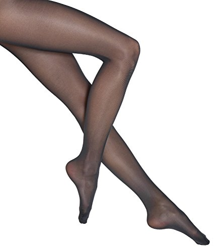 Wolford Damen Synergy 40 light leg support 40 DENIER black L (Strumpfhose Light Support)