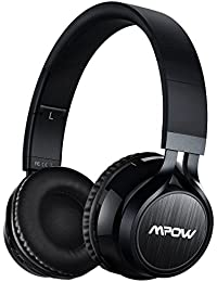 Mpow Thor, Auriculares de Diadema Casco Bluetooth Inalámbrico con Micrófono Casco Plegable Headphone Bluetooth Manos