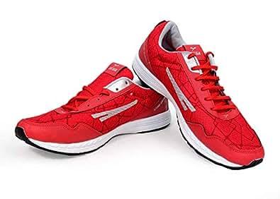 Sega - Unisex Merathon Light Weight Running Shoes - Red