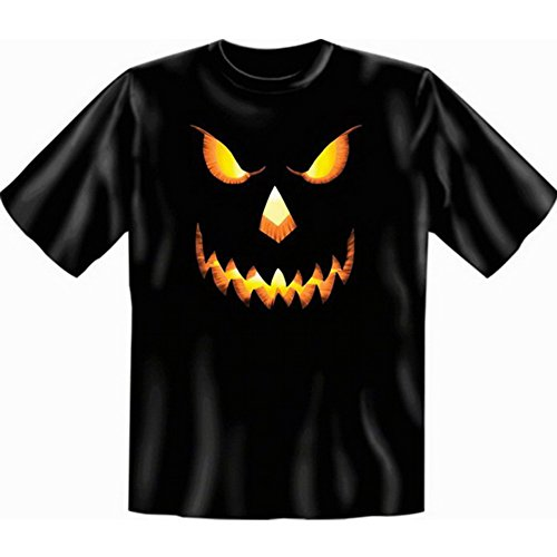Halloween T-Shirt - Pumpkinhead Halloween Kürbis - gruseliges Sprüche Shirt für die Halloween Party