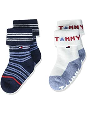 Tommy Hilfiger Baby-Jungen Socken, 2er Pack