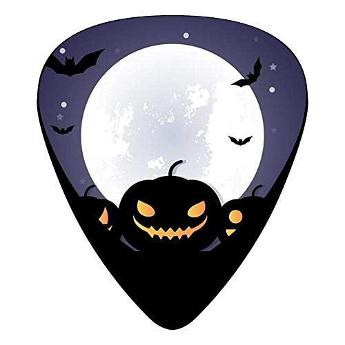 Halloween Night Celluloid Electric Guitar Picks 12-pack