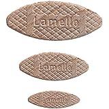 LAMELLO Flachdübel Verbindungsplättchen Sortiment; Größe 0/10/20 - je Größe 100 Stück