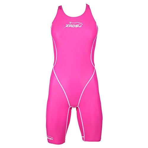 ZAOSU Wettkampf-Schwimmanzug Z-Pink, Größe:140