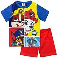 Paw Patrol Pijamas Manga Corta para Niños La Patrulla Canina