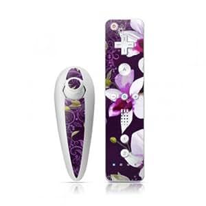 DecalGirl Nintendo Wii Remote und Nunchuk Skin Aufkleber Sticker - Violet Worlds