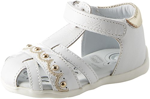 Chicco Mädchen Ginevra Sandalen, Weiß (Bianco-300 300), 19 EU