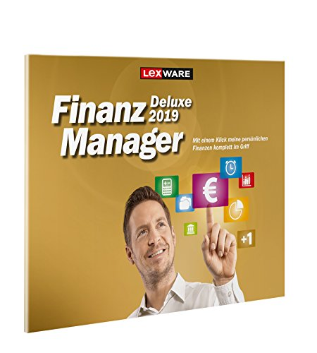 Lexware FinanzManager Deluxe 2019 in frustfreier Verpackung | Einfache Buchhaltungs-Software für private Finanzen & Wertpapier-Handel | Kompatibel mit Windows 7 oder aktueller