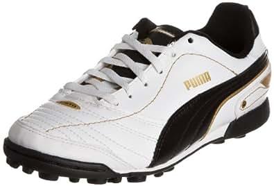 Puma Esito Finale TT Jr 102017, Unisex - Kinder, Sportschuhe - Fußball, Weiss (white-black-team gold 02), EU 29 (UK 11) (US 12)