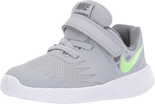 Nike Star Runner Sneaker Babyschuhe (TDV) aus grauem Segeltuch 907255-008 - 2015 Nikes