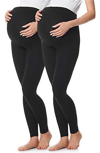 Be mammy leggings premaman lunghi (nero/nero, l)
