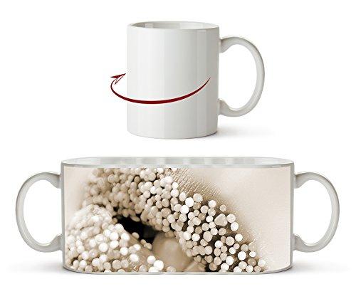 Zucker süße Lippen Effekt: Sepia als Motivetasse 300ml, aus Keramik weiß, wunderbar als...