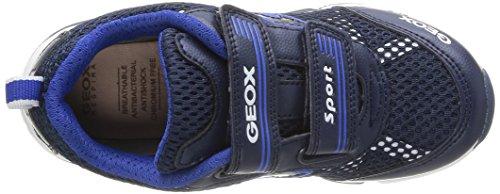GEOX - J Android Boy, Sneakers per bambini e ragazzi Blu (Blau (NAVY/WHITEC4211))