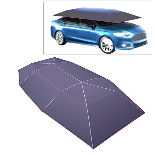 Carpa toldo del coche Car Sun Shade cubierta Paraguas del coche Toldo del coche Carpa Paraguas del coche del toldo 400 210 CM