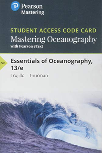 graphy - Mastering Oceanography With Pearson Etext Standalone Access Card ()