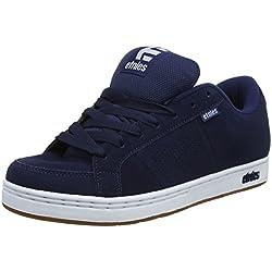 Pisahuevos Etnies Kingpin, Zapatillas de Skateboard para Hombre, Azul (478-Navy/White/Gum), 46 EU