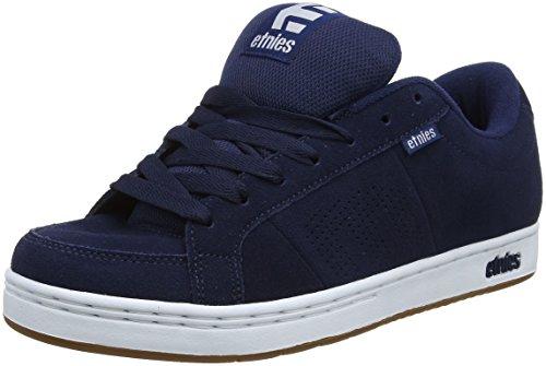 Etnies Kingpin, Zapatillas de Skateboard para Hombre, Azul (478-Navy/White/Gum), 45 EU