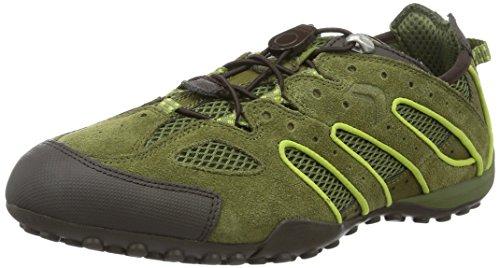Geox Uomo Serpent J U4207j02214c0031, Sneaker Uomo Verde (musc / Lime Greencb33s)