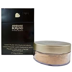 Annemarie Börlind Loose Powder with Hyaluronic Acid Nr. 03 natural, 1er Pack (1 x 10 g)