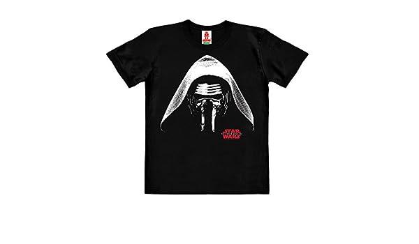 Ben Solo Logoshirt Star Wars Design Originale Concesso su Licenza Maglietta Organico per Bambini Nero Kylo Ren T-Shirt