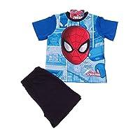 Spider-Man Boys Short Pyjamas Sizes 3 to 10 Years