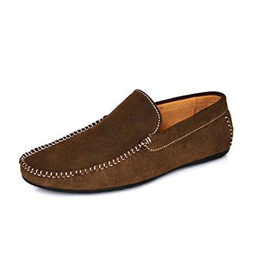 Fulinken , Chaussures à lacets homme Vert kaki foncé